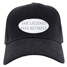 LEGEND-HAS-RETIRED-OPT-GRAY Baseball Hat