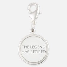 LEGEND-HAS-RETIRED-OPT-GRAY Charms