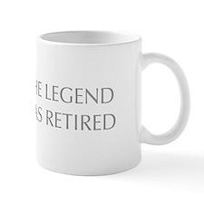 LEGEND-HAS-RETIRED-OPT-GRAY Mugs