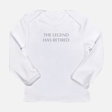LEGEND-HAS-RETIRED-OPT-GRAY Long Sleeve T-Shirt