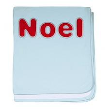 Noel Santa Fur baby blanket