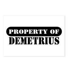 Property of Demetrius Postcards (Package of 8)