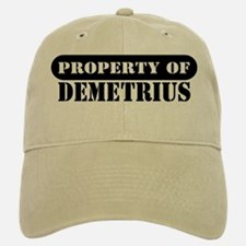 Property of Demetrius Baseball Baseball Cap