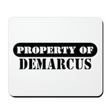 Property of Demarcus Mousepad