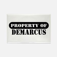 Property of Demarcus Rectangle Magnet