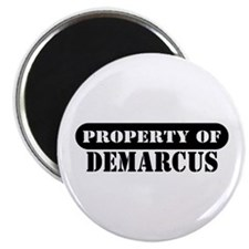 """Property of Demarcus 2.25"""" Magnet (10 pack)"""
