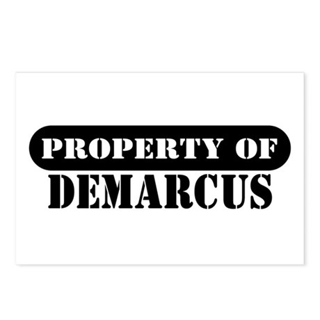 Property of Demarcus Postcards (Package of 8)