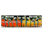 Parrot Congress Bumper Sticker