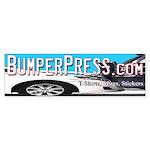 Bumper Press Bumper Sticker