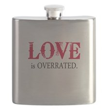 Love is Overrated Flask