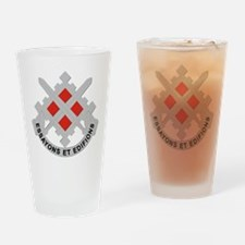 DUI-18th Engineer Brigade Drinking Glass