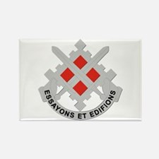 DUI-18th Engineer Brigade Rectangle Magnet