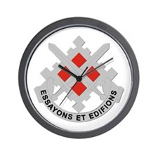 DUI-18th Engineer Brigade Wall Clock