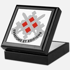 DUI-18th Engineer Brigade Keepsake Box