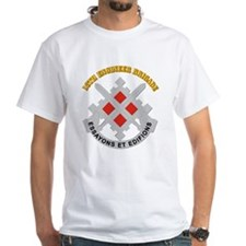 DUI-18th Engineer Brigade with text Shirt
