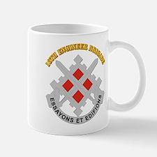 DUI-18th Engineer Brigade with text Mug