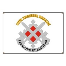 DUI-18th Engineer Brigade with text Banner