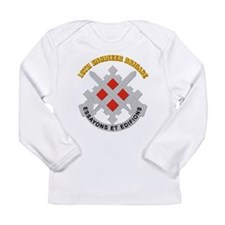 DUI-18th Engineer Brigade with text Long Sleeve In
