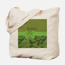 Lavish Camouflage with Ribbon Tote Bag