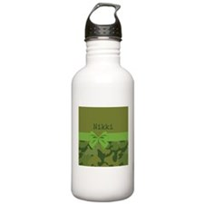 Lavish Camouflage with Ribbon Water Bottle