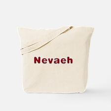 Nevaeh Santa Fur Tote Bag