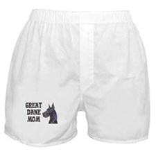 C Blk GD Mom Boxer Shorts