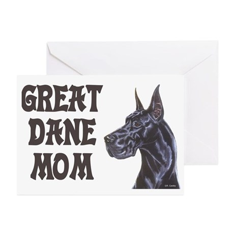 C Blk GD Mom Greeting Cards (Pk of 10)