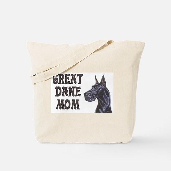C Blk GD Mom Tote Bag