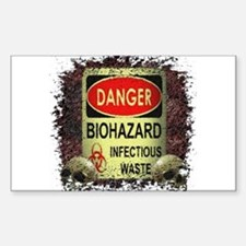 INFECTIOUS WASTE Decal