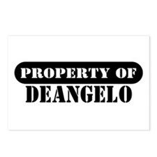 Property of Deangelo Postcards (Package of 8)