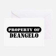 Property of Deangelo Greeting Cards (Pk of 10)