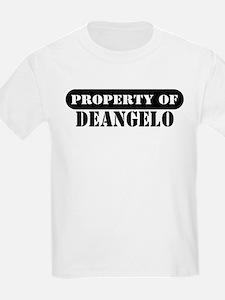 Property of Deangelo Kids T-Shirt