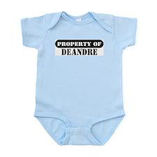 Property of Deandre Infant Bodysuit