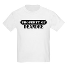 Property of Deandre Kids T-Shirt