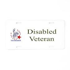 Disabled veteran Aluminum License Plate