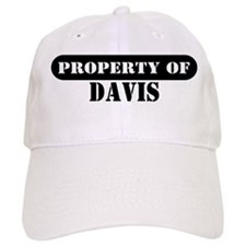Property of Davis Baseball Cap