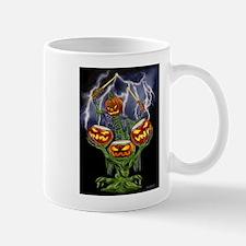 PUMPKIN DRUMMER Mugs