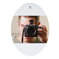 Self Portrait Ornament (Oval)