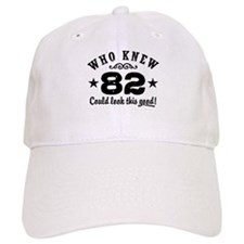 Funny 82nd Birthday Baseball Cap