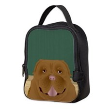 Dogue de Bordeaux Neoprene Lunch Bag