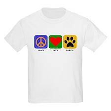 Peace Love Portie T-Shirt