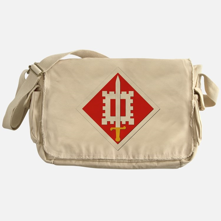SSI-18th Engineer Brigade Messenger Bag