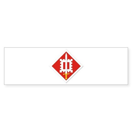 SSI-18th Engineer Brigade Sticker (Bumper)