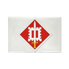 SSI-18th Engineer Brigade Rectangle Magnet