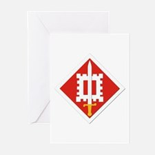 SSI-18th Engineer Brigade Greeting Cards (Pk of 20