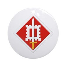 SSI-18th Engineer Brigade Ornament (Round)