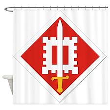 SSI-18th Engineer Brigade Shower Curtain