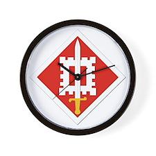SSI-18th Engineer Brigade Wall Clock