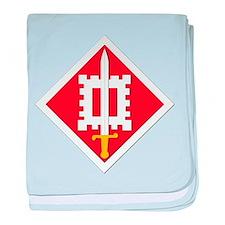 SSI-18th Engineer Brigade baby blanket