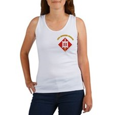 SSI-18th Engineer Brigade with text Women's Tank T